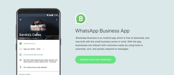 The WhatsApp Business App Is Officially Rolling Out
