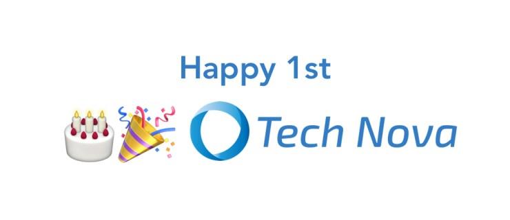 Happy 1st Birthday TechNova