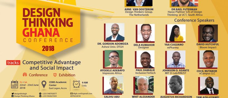 Event: Design Thinking Ghana 2018 Conference (DTGC2018)