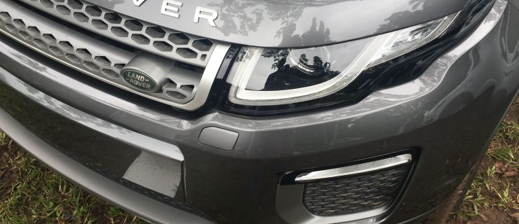 Car Tech: Test Driving The 2018 Range Rover Evoque