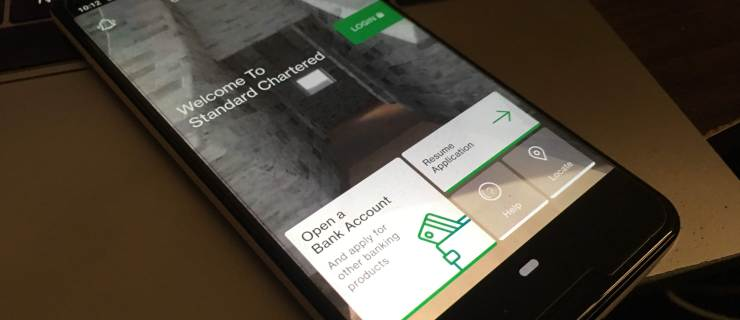 Opening A Bank Account Digitally With Standard Chartered's Mobile App