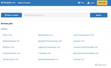 "Tonaton Introduces ""Tonaton Jobs"" For Recruiters And Job Seekers"