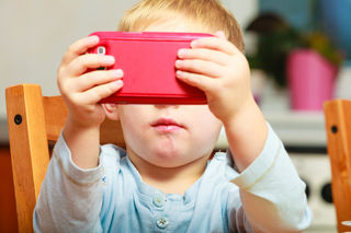 Excessive Time Spending In Front The Screen Can Negatively Affect On Children's Brain