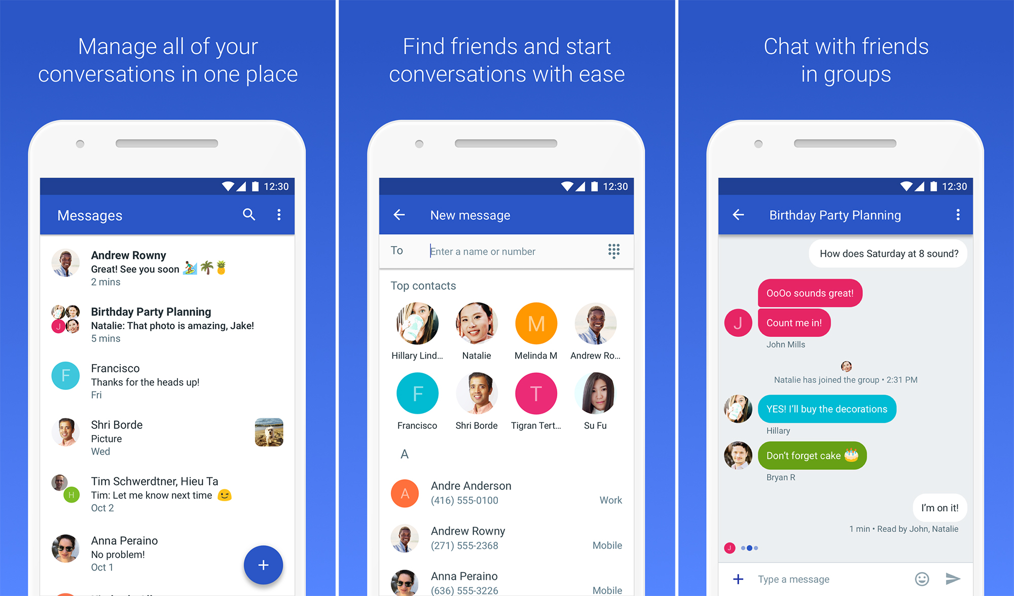 Google's Android Messages App Crosses 500 Million Downloads