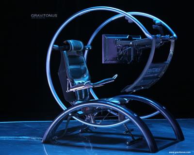 Gravitonus Ergonomic Workstation Science Fiction in the News