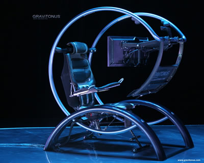 comfortable chair for gaming chrome dining chairs gravitonus ergonomic workstation: science fiction in the news