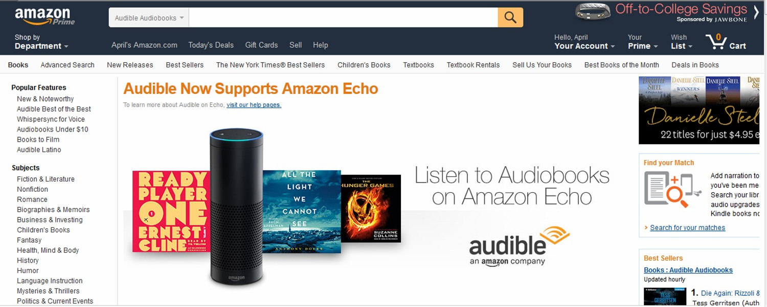Download Amazon Audible App For Pc