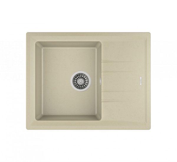 мивка обръщаема за шкаф 45 см STONE 45 S TG СЛОНОВА КОСТ
