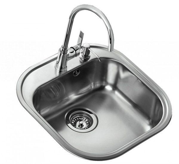 мивка за вграждане гладка Смесител INCA 995 ХРОМ Дозатор за сапун