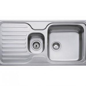 мивка за вграждане гладка обръщаема за шкаф със светъл отвор 80 см SUPER BOWL 1½С 1Е
