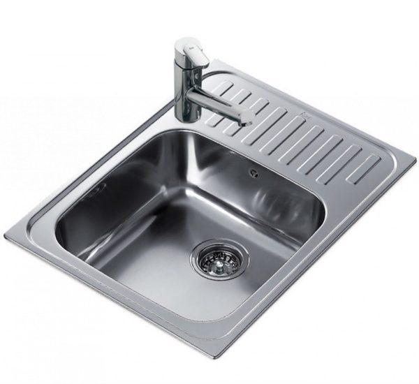 мивка за вграждане микролен обръщаема за шкаф със светъл отвор 50 см SUPER BOWL 1C МИКРОЛЕН 1 1