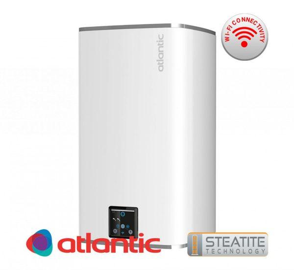 бойлер 100 литра Steatite CUBE със сух керамичен нагревател и Wi Fi за вертикален монтаж