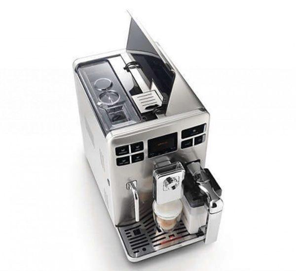 Saeco Aвтоматична кафемашина Saeco Exprelia HD8856 5 степенна регулируема мелачка 15 бара 4