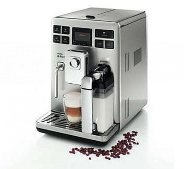 Saeco Aвтоматична кафемашина Saeco Exprelia HD8856 5 степенна регулируема мелачка 15 бара 6