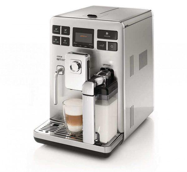 Saeco Aвтоматична кафемашина Saeco Exprelia HD8856 5 степенна регулируема мелачка 15 бара