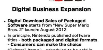 任天堂數碼版即將開售