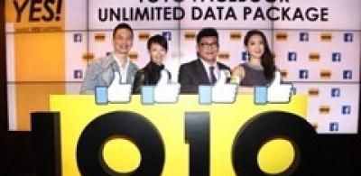 1O1O 推出Facebook無限數據組合