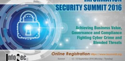 Information Security Summit 2016