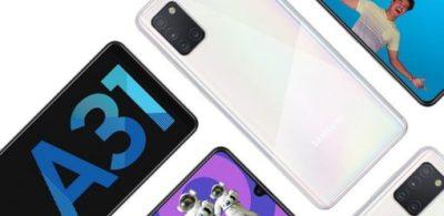 Samsung Galaxy A31 大容量電池配合後置四鏡頭