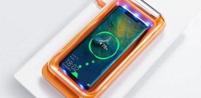 限時減 $30 手機最佳消毒方式 Ansbabe 無線充電消毒盒限時優惠