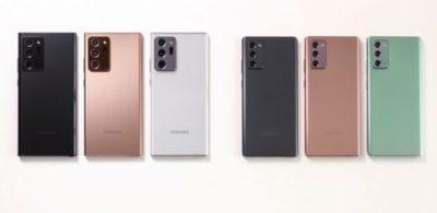 Galaxy Note20 系列登場,重點提升生產力