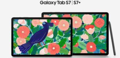 Galaxy Tab S7 和 S7+:5G + S Pen 的平板新選擇