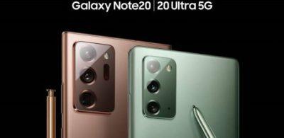 Samsung Galaxy Note20系列5G智能手機8月28日正式發售