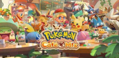 益智遊戲「Pokémon Café Mix」即將在Nintendo Switch、手機上登場!開放事前登錄中