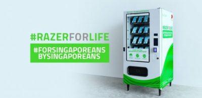Razer在新加坡免費派發口罩 #RazerForLife