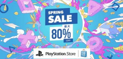 PS Store第2彈「SPRING SALE」開跑!優惠最大80%OFF