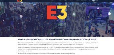 「E3 2020」因新冠病毒(COVID-19)的疫情影響決定中止舉辦