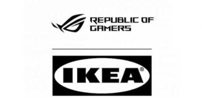 ROG&IKEA聯名!電競家具的時代來了!會有ROG鯊魚嗎?