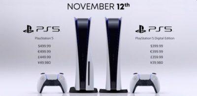 終於公布PS5發售日與價格!周邊、同步發售遊戲、主機詳細規格大公開!
