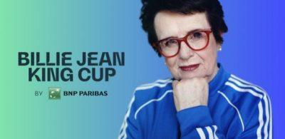 ITF(國際網球協會)宣佈為協會盃重塑形象,將全球女子團體錦標賽更名為「Billie Jean King Cup by BNP Paribas」(法國巴黎銀行的比莉珍金盃)