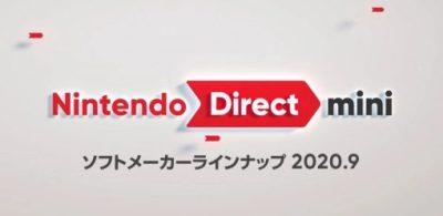 Nintendo Direct mini Partner Showcase 2020.9 發表會內容