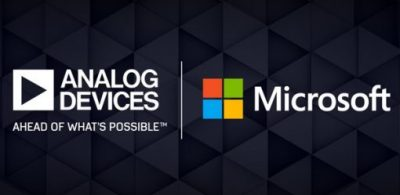 ADI與Microsoft合作量產先進3D成像產品及解決方案