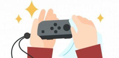 任天堂正式發表Nintendo Switch的維護方法。教大家如何正確清潔。