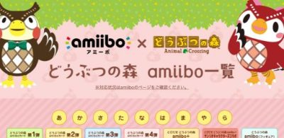 『走出戶外 動物森友會 amiibo+』amiibo卡【三麗鷗明星聯名】復刻確定!