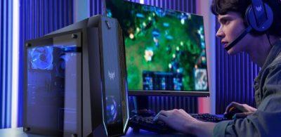 Acer發表搭載了可發出1670萬色獨家冷卻風扇「Predator Orion 3000」的全新桌上型電腦。
