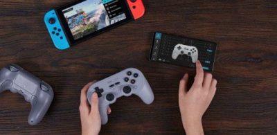 八位堂推出可以在NS、PC、Android等眾多平台使用的多功能遊戲手把「8BitDo Pro 2」!