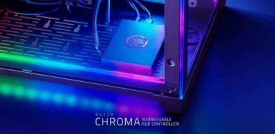 Razer宣布將推出可同時控制複數裝置燈光效果的「Razer Chroma Addressable RGB Controller」!