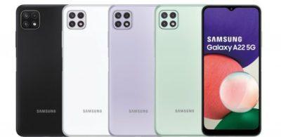 【圖表解析】享受Galaxy A22 5G的強大效能與疾速連線