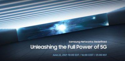 【邀請函】Samsung Networks: Redefined