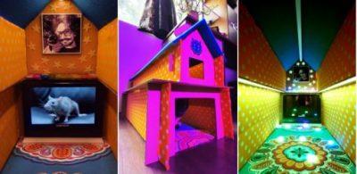 發揮創意改造#三星環保包裝!將電視紙箱變身「綠色酷東西」