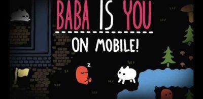 曾獲日本遊戲設計大獎2020的《Baba Is You》登上智慧型手機平台!