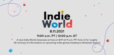 「Indie World Showcase 8.11.2021」日本版遊戲整理!