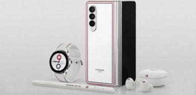 Galaxy Z Fold3︱Flip3 5G Thom Browne Edition限量版 開放預購後5分鐘旋風額滿 打破摺疊智慧手機熱銷紀錄