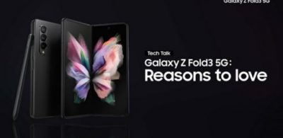 【影片】Galaxy Z系列技術講座:三星如何打造 Galaxy Z Fold3 5G全新的生產力體驗