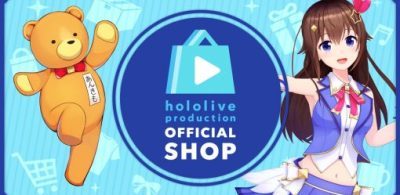 hololive 官方網店hololive production OFFICIAL SHOP正式開業