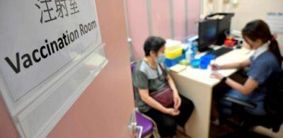 新冠疫苗累計接種逾821萬劑